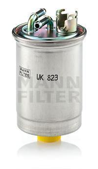 Топл. фильтр WK 823 (Audi). Mann (WK823)