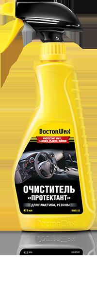 Очиститель  Протектант  для винила, кожи, пластика, резины. Doctor Wax (DW5232)