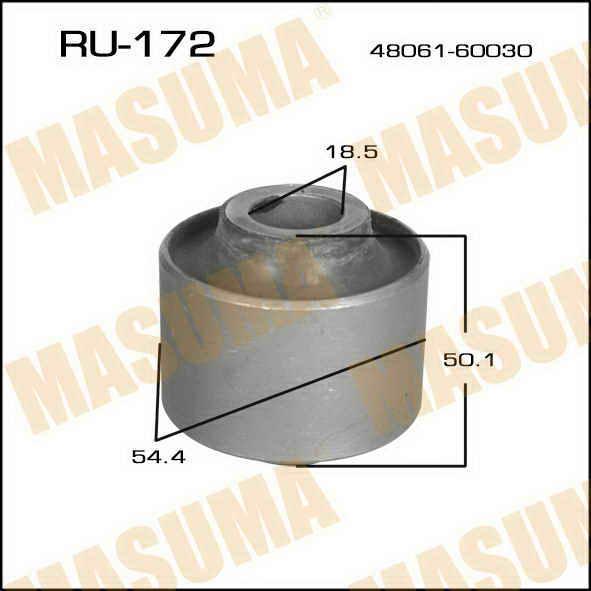 Сайлентблок  Masuma  Prado /LJ7# (9004-9305)/ rear лыжа. (RU-172)