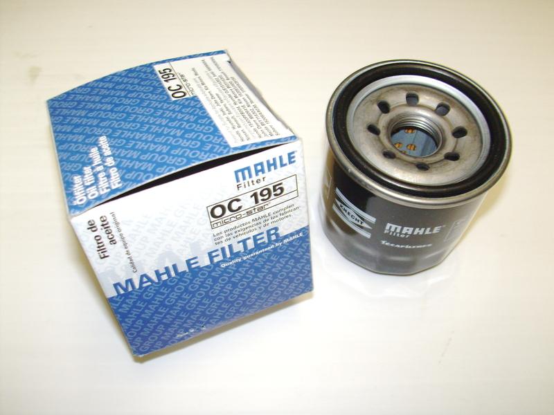Фильтр масляный MAHLE OC 195 S0322 (W 67/1). (OC195)