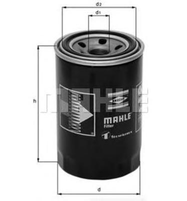 Фильтр масляный MAHLE OC 275 Z0322 (WP 928/80). (OC275)