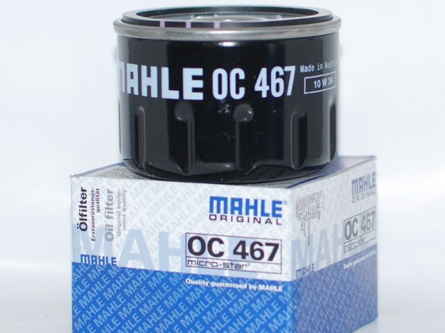Фильтр масляный MAHLE OC 467 S0322 (W 75/3). (OC467)