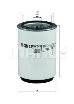 Фильтр топливный MAHLE KC 249D Z0322 (WK 1060/3 x). (KC249D)