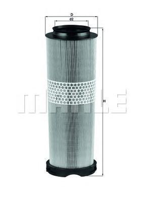 Фильтр воздушный. Mahle (LX1020/1)