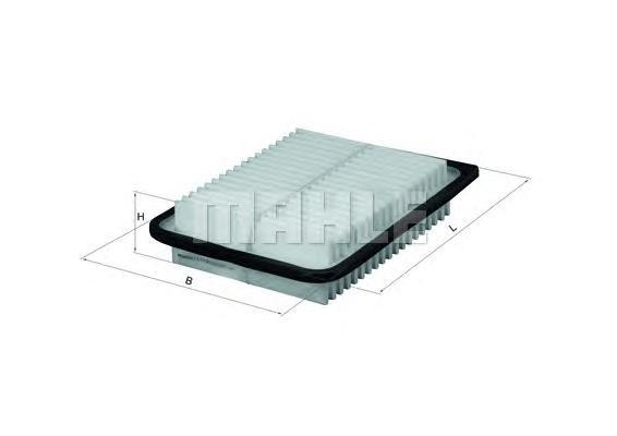 Элемент фильтрующий воздушного фильтра MAHLE LX 2792 Z0322 (C 24 005). (LX2792)