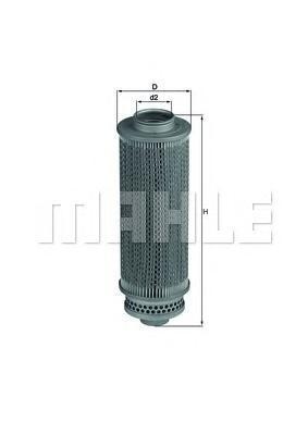 Элемент фильтрующий гидравлического филь MAHLE HX 29 A0322 (H 846). (HX29)