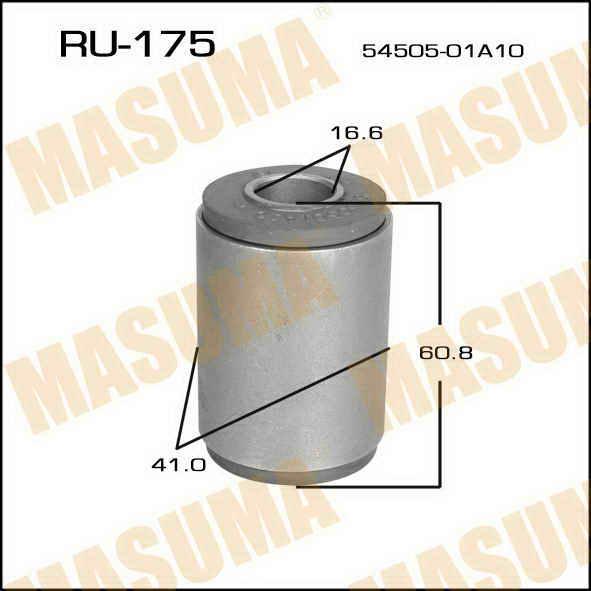 Сайлентблок  Masuma  Pulsar /N12/,Sunny /B11/ front. (RU-175)