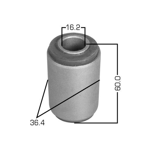 Сайлентблок  Masuma  Pulsar /N12/,Sunny /B11/ front (1/130). (RU-138)