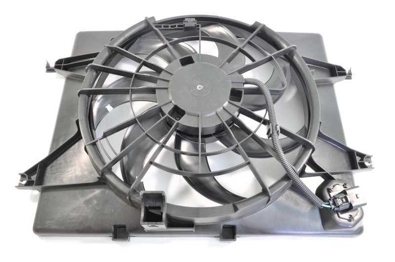 Вентилятор охлаждения двигателя FCU129 253803R170/AMD.HYUNDAI Sonata YF (09-) KIA Optima ( AT). (AMD.FCU129)