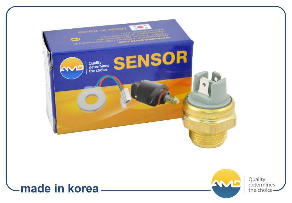 Датчик включения вентилятора SEN38 96181814 12814AMD.DAEWOO (Nexia). (AMDSEN38)