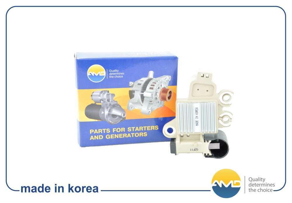 Регулятор напряжения генератора EL537 3737022650/AMD Hyundai ACCENT/VERNA/CLICK/AVANTE XD/VERNA. (AMDEL537)