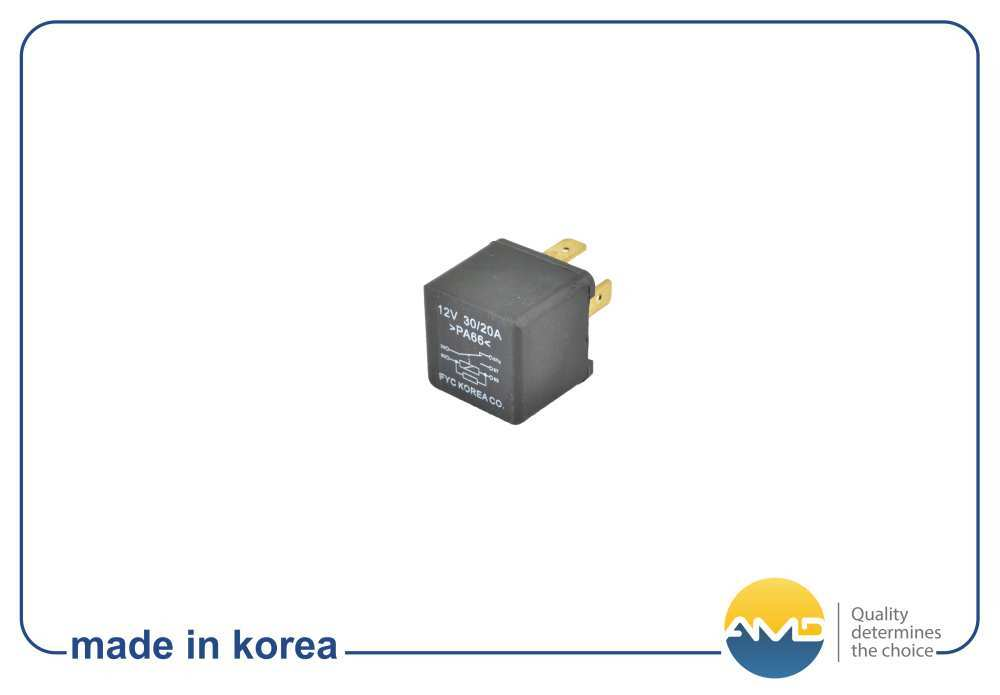 Реле топливного насоса ER16 94580644 AMD. DAEWOO (Nexia) CHEVROLET (Lanos T100). (AMD.ER16)