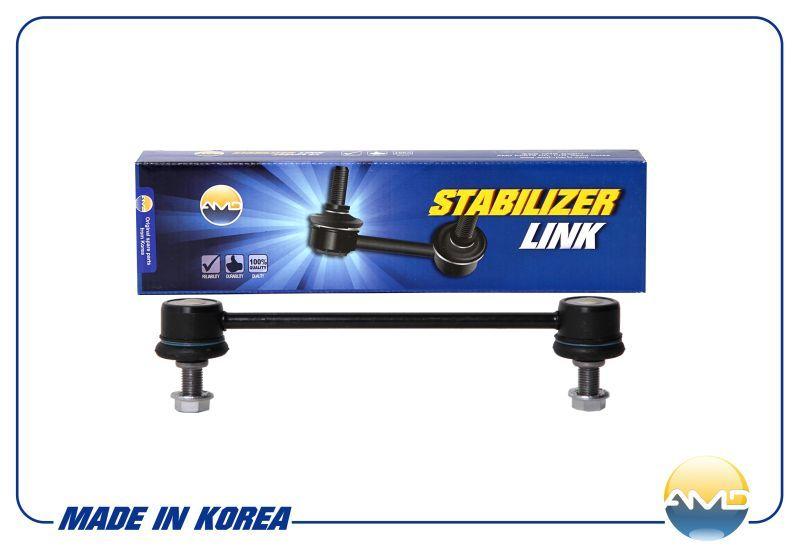 Стойка стабилизатора задняя SL139 555302G000 /AMD. KIA (Cerato08-,Magentis 06-,Optima). (AMDSL139)