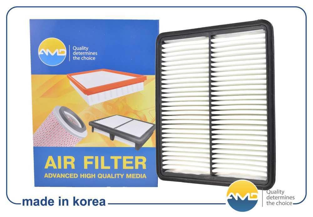 Фильтр воздушный FA69 281133S100 AMD. HYUNDAI (Sonata YF) KIA (Optima II) (2010-). (AMDFA69)