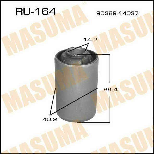 Сайлентблок  Masuma  TownAce CR27/8,36/7,KR27,YR25 (9201-9212), CR28/9,37/38 (9212-9610) rear. (RU-164)