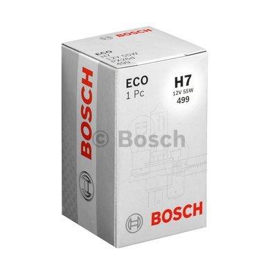 Лампа 12В 55W H7 eco. Bosch (1987302804)