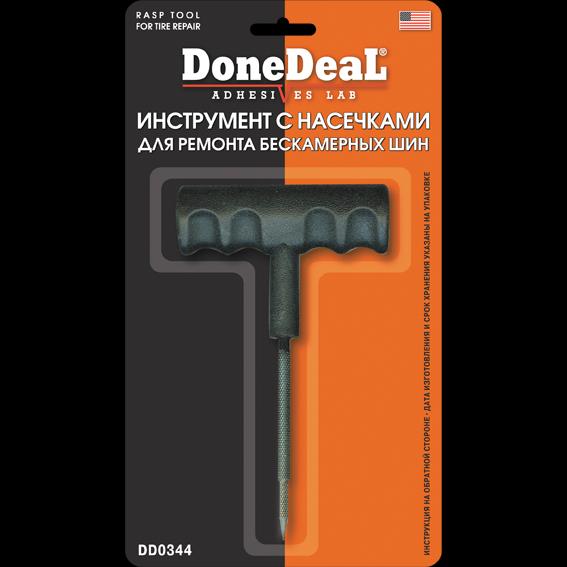 Инструмент с насечками для ремонта бескамерных шин Done Deal RASHP TOOL FOR TIRE REPAIR. (DD0344)
