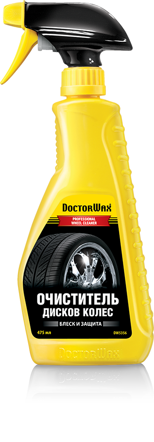 Очиститель дисков колес Doctor Wax PROFESSIONAL WHEEL CLEANER. (DW5356)
