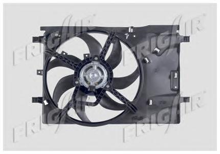 Вентилятор охлаждения (МКПП AC+). FRIG AIR (0504.2015)