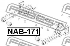 САЙЛЕНТБЛОК ЗАДНЕЙ БАЛКИ. Febest (NAB-171)