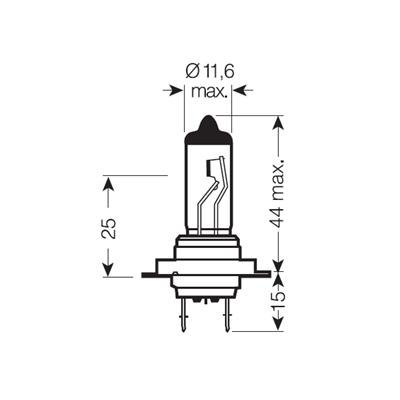 ЛАМПА H7 12V 55W Plus 50 Plus Life блистер/1шт). Bosch (1987301066)