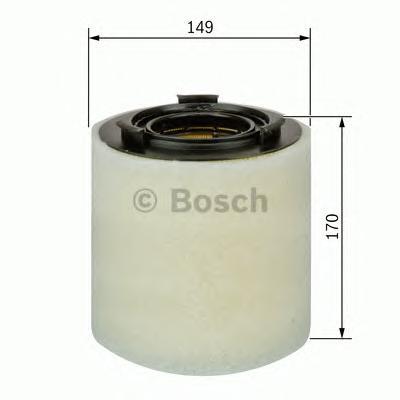ВСТАВКА ВОЗДУШНОГО ФИЛЬТР. Bosch (F026400391)