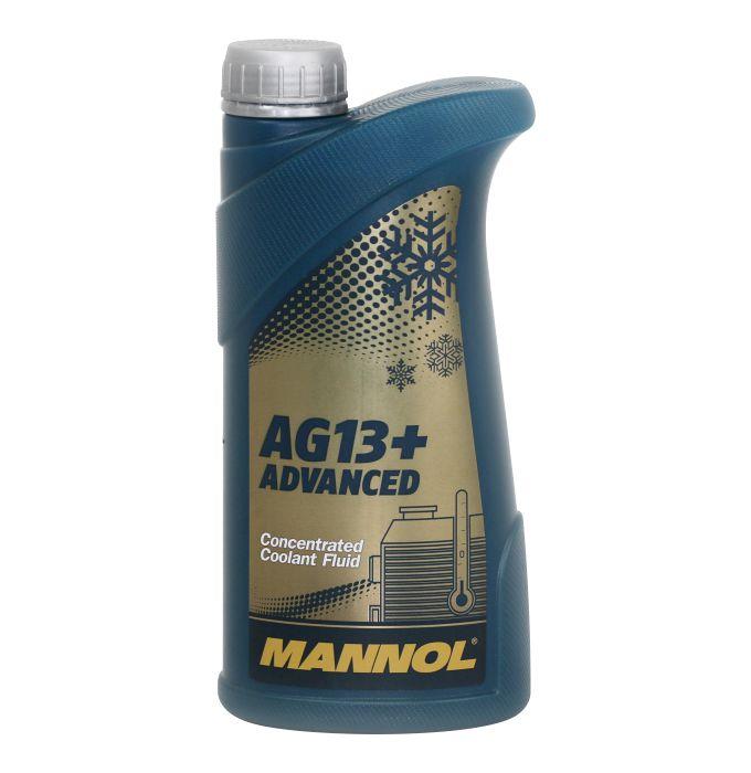 Антифриз голубой КОНЦЕНТРАТ AG11 Longterm (1л) Mannol. (2030)