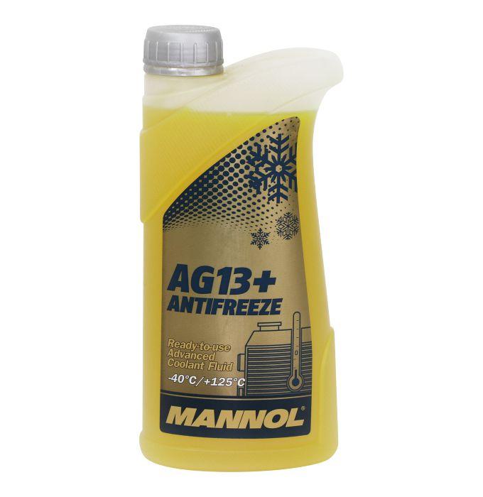 Антифриз желтый AG13+ (-40*C) Advanced (1л) MANNOL. (2066)