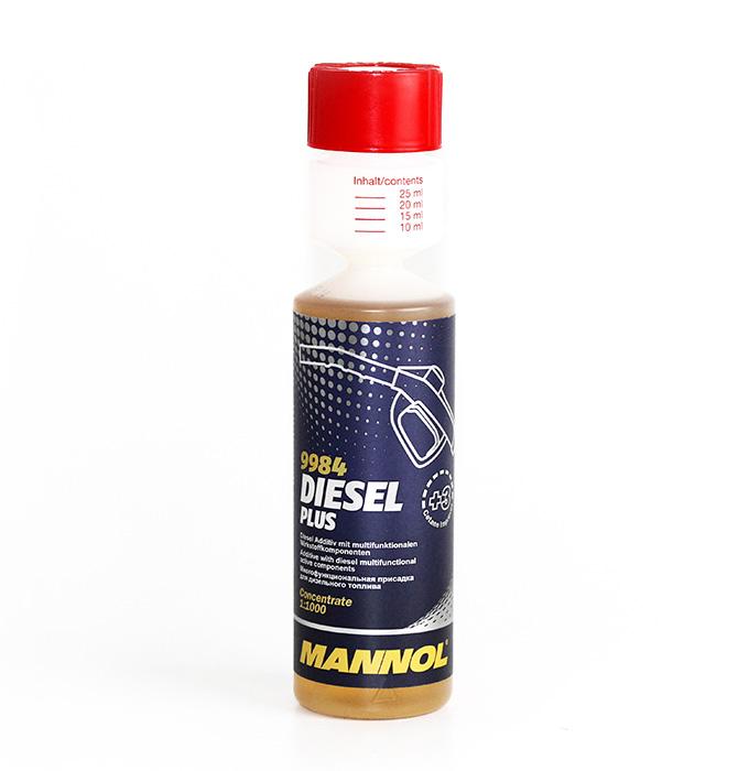 Присадка комплексная для дизельного топлива MANNOL /Disel Plus (0.25л.) 9984. (2130)