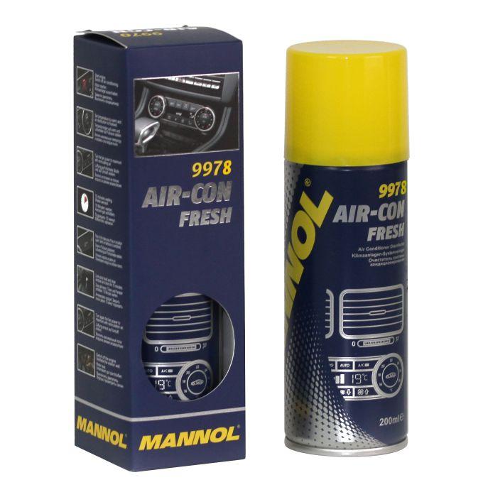 Очиститель системы кондиционирования/ Air-Con Fresh MANNOL ( 200мл.) 9978. (997117)