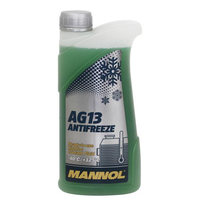 Антифриз зеленый AG13 (-40*C) (1л) MANNOL. (2034)