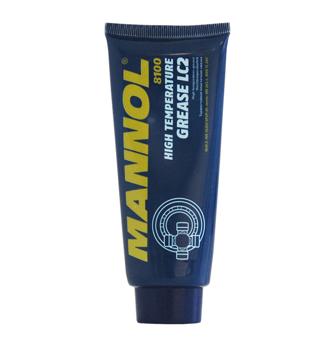 Термостойкая пластичная смазка LC 2 (100гр.) синяя. MANNOL (2143)