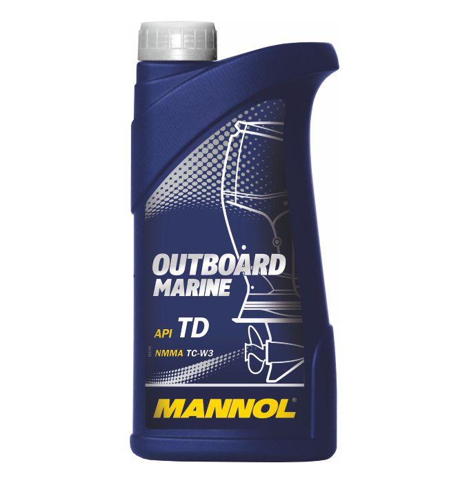 OUTBOARD Marine п/синт. моторное масло (1л.) MANNOL. (4036021101750)