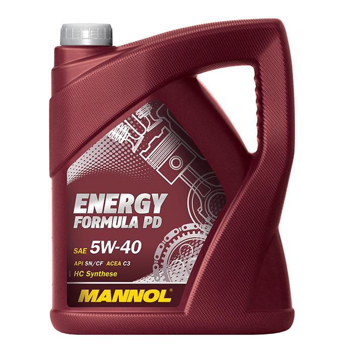 Energy Formula PD 5W40 C3 5L. MANNOL (4036021505206)