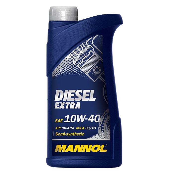 Diesel Extra 10W40 1L. MANNOL (4036021101156)