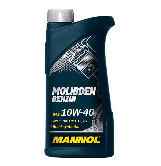 MOS Benzin (Molibden) 10W40 1L. MANNOL (4036021101552)