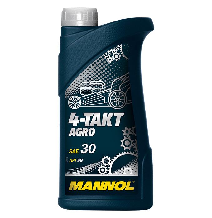 4 -Takt AGRO Моторное масло для садовой техники SAE 30 API SG (1л.) MANNOL. (4036021102054)