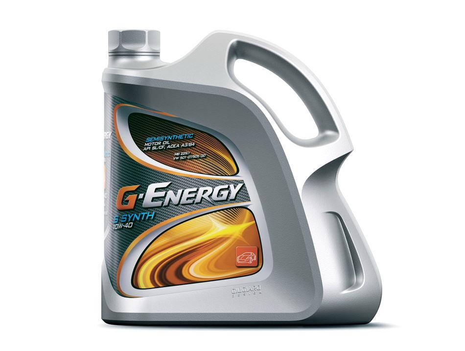 G-Energy S Synth 10W40 SL/CF (4л) п/с. G-Energy (8034108190112)