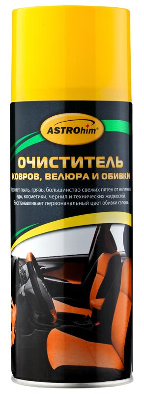 АС-343 Очиститель велюра и обивки салона, аэрозоль (520мл) г.Москва. ASTROHIM (AC-343)