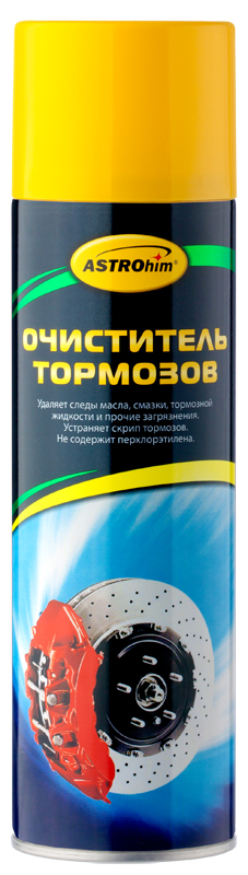 АС-4306 Очиститель деталей тормозов и сцепления антискрип, аэрозоль (650мл) г. Москва. ASTROHIM (AC-4306)