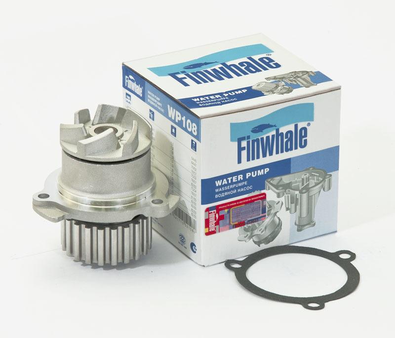 FINWHALE Водяная помпа ВАЗ 2108-09, ВАЗ 2113-15 и модификации WP108. Finwhale