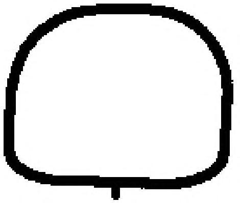 Прокладка впускного коллектора 13191700. Ajusa