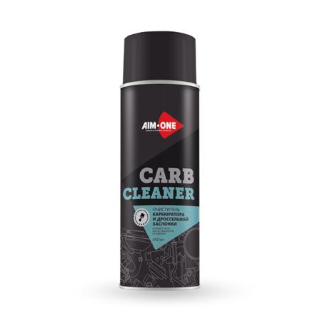 Очиститель карбюратора и др. заслонки AIM-ONE 450 мл (аэрозоль). CARB CLEANER 450ML AC-450