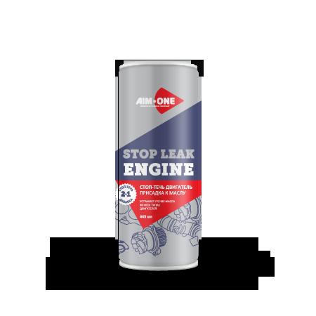 Стоп-течь двигательAIM-ONE 443 мл (жидкость).Stop leak engine 443ML SL-410