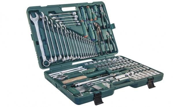 Набор инструмента универсальный 1/2 и 1/4 DR, 127 предметов. Jonnesway (S04H524127S)