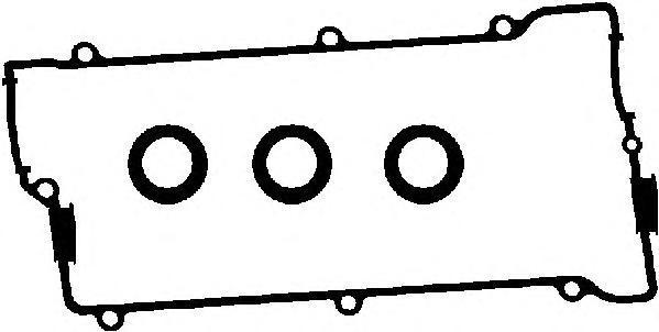 Прокладка крышки ГБЦ полиакриловый каучук 56026300. Ajusa