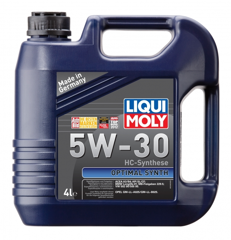Масло моторное Optimal HT Synth 5W-30 4L. Liqui moly (39001)
