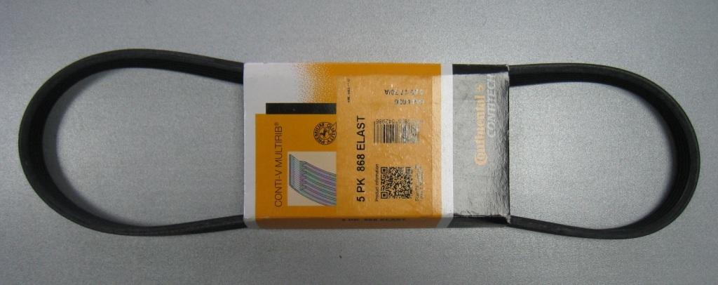 Поликлиновой ремень 5PK868ELAST. ContiTech