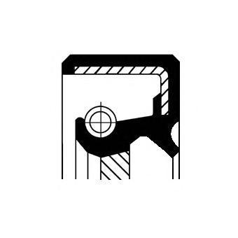 Сальник 19026734B. Corteco