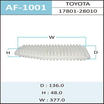 Воздушный фильтр A-1001 HEPAFIX. (AF-1001)